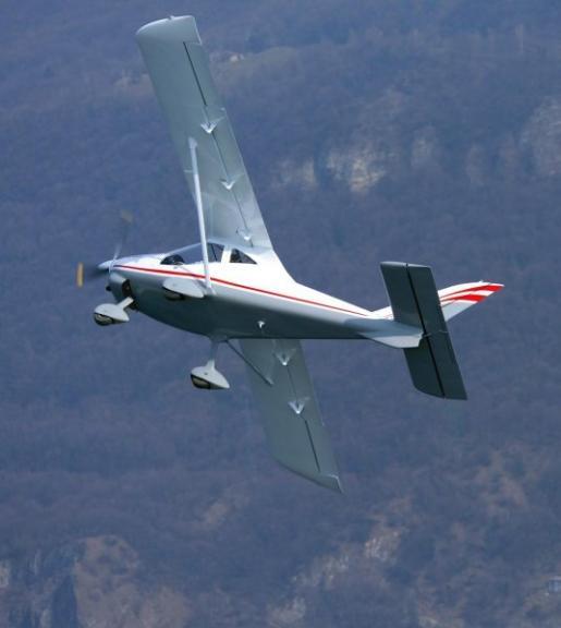 MD3 Rider SN 007 flying