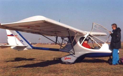 Skyboy first prototype with Maja and Marian Rydlo