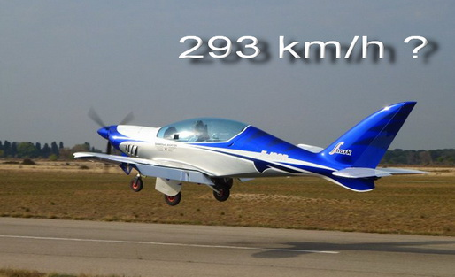Shark 003 made next speed record 293 km/h